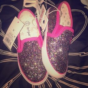 Sparkle Cat&Jack kid shoes